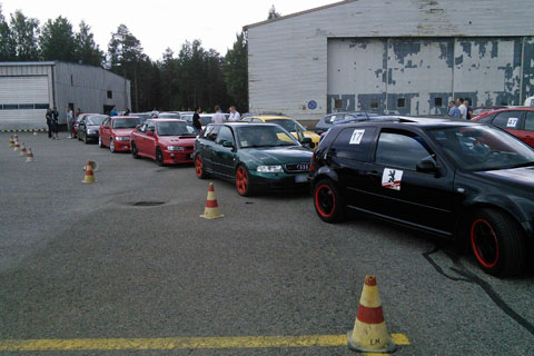 SpeedParty 2014 – Waiting for the event to begin