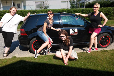 SpeedParty 2014 – Team's pit gang